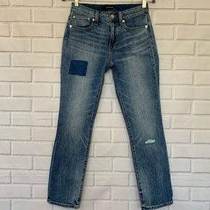 NEW! J.Crew Jeans Slim Broken In Boyfriend 24 Size